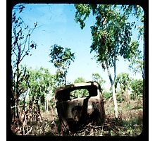 The Old Aussie Ute Photographic Print