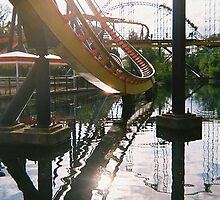 roller coaster by chattexnoir