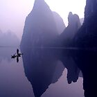 MORNING CALM - LI RIVER by Michael Sheridan