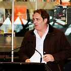 Stefan Nicholson - Poetry@Fed Square by Rosina lamberti