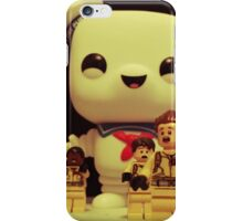 Stay Puft On The Charge iPhone Case/Skin