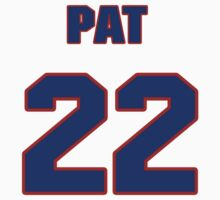 National Hockey player Pat Ribble jersey 22 by imsport