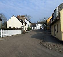 Bunratty Folk Park street by John Quinn