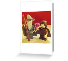 Frodo Loves Gandalf Greeting Card