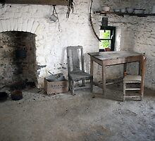 Bunratty folk park cottage kitchen by John Quinn