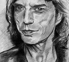 Mick Jagger Sketch by dobbyf