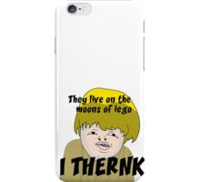 They live on the moons of iego I think... iPhone Case/Skin