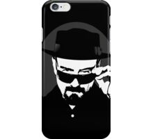 Heisenberg in his hat iPhone Case/Skin