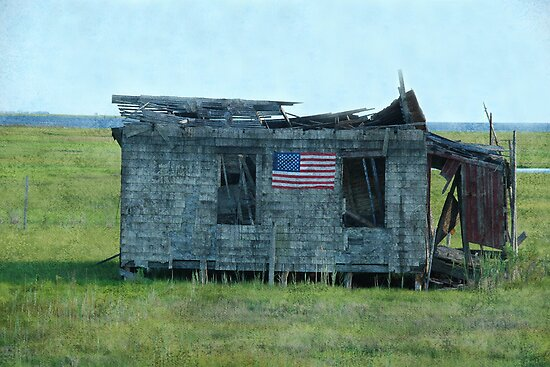 God Bless America by Michael  Dreese