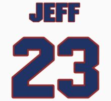 National Hockey player Jeff Daniels jersey 23 by imsport