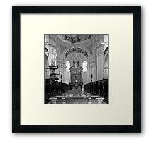 Virgin Mary Visitation Church, Hejnice, Czech Republic Framed Print