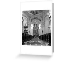Virgin Mary Visitation Church, Hejnice, Czech Republic Greeting Card