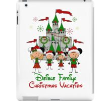 Choose your character Castle Family Christmas Vacation ~ DO NOT PURCHASE THIS SAMPLE. SEE DESCRIPTION iPad Case/Skin