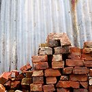 Brick Pile by Stephen Mitchell