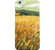 Fall Field iPhone Case/Skin