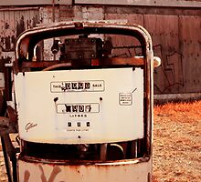 Crusty Petrol Pump by reflector