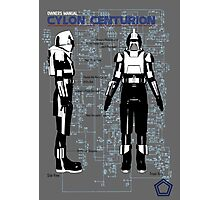 Owners Manual Cylon Centurion Photographic Print