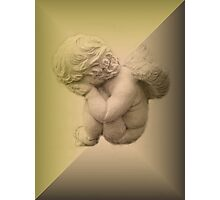Weeping Cherub ~ Angel Photographic Print