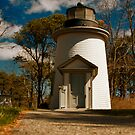 Old Lighthouse by capecodart