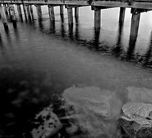 Under the Mordialloc Pier by FuriousEnnui