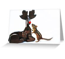 """Rudy....would you guide my sleigh tonight?"" Greeting Card"