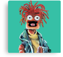 Pepe The King Prawn Fan Art The Muppets Canvas Print