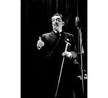 Salvador Dali at Columbia University 1964 Photographic Print