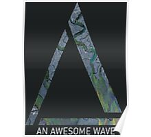 Alt-J An Awesome Wave Poster