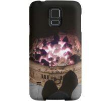 Toasting tootsies Samsung Galaxy Case/Skin
