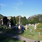 Glendalough cemetery view by John Quinn