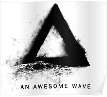 Alt-J An Awesome Wave Front Cover Poster