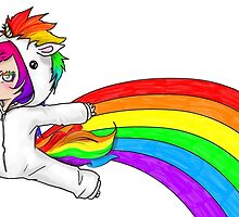 How Rainbows are Actually Made by porselinchild