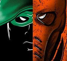 Arrow Vs Deathstroke by Fapthesystem