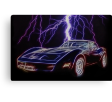 Lightning Fast Canvas Print