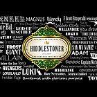 Hiddlestoner Mug - Tom Hiddleston (Black) by patee333