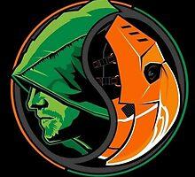 Arrow Deathstroke Yin Yang by Fapthesystem