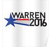 Elizabeth Warren 2016 Poster