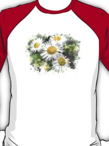 Daisy Watercolor Art T-Shirt