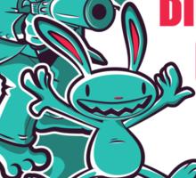 The Big Kill Gun Sticker