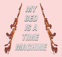 My Bed Is A Time Machine Kids Clothes