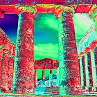 Segesta Temple, Trapani,  Sicily,  Italy by Peter Schneiter