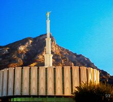 Provo Temple by damhotpepper