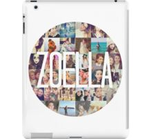 Zoella / Zoe Sugg Circle Collage iPad Case/Skin