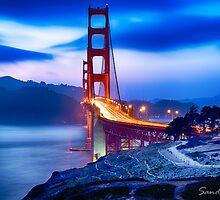 Golden Gate Bridge by Sandeep  Paul