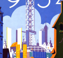 World's Fair Chicago, 1934 Sticker