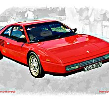 1986 Ferrari Mondial Car by Peter Sandilands