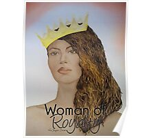 Woman of Royalty Poster