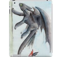 HTTYD Toothless Watercolour iPad Case/Skin