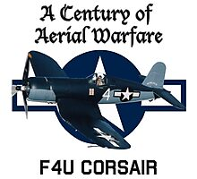 F4U Corsair Century of Aerial Warfare Photographic Print
