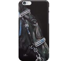 Dark Horse  - Study in Acrylics iPhone Case/Skin
